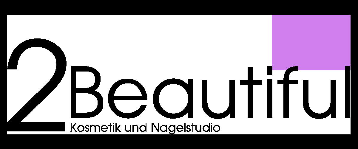 2Beautiful - Logo - black